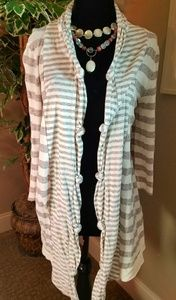 Three Dots Cotton Cardigan